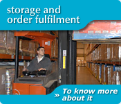 Storage and order fulfilment